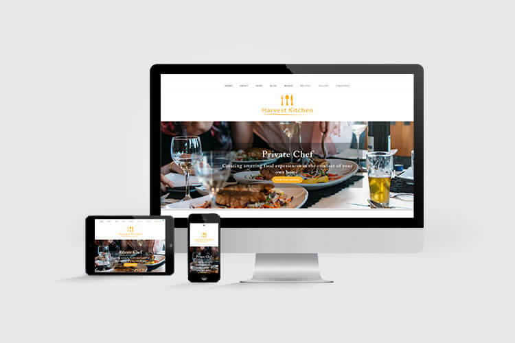 Harvest Kitchen Website